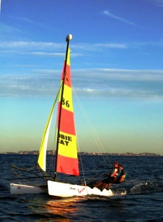 Cours Particuliers en Catamaran de sport ou Laser Pico