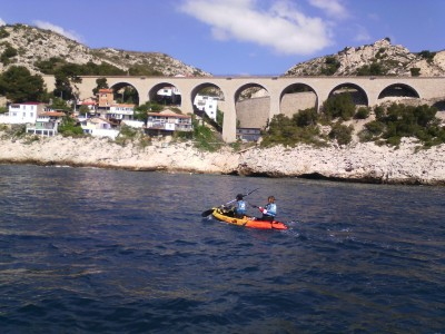Location Kayak à l'Estaque - Marseille